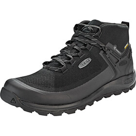 Keen Citizen Evo WP Mid Shoes Herre triple black/black